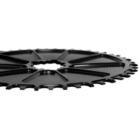 Garbaruk Aero Chainring Oval for SRAM GXP Road/CX, zwart